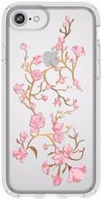 Speck Presidio Blossoms iPhone 8 Back Cover Transparant