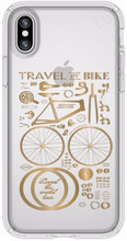 Speck Presidio CityBike iPhone X Back Cover Transparant