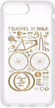 Speck Presidio CityBike iPhone 8 Plus Back Cover Transparant