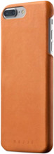Mujjo Full Leather iPhone 7+/8+ Back Cover Bruin