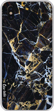 Casetastic Softcover iPhone X Black Gold Marble