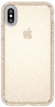Speck Presidio Glitter iPhone X Back Cover Goud