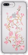 Speck Presidio Blossoms iPhone 8 Plus Back Cover Transparant
