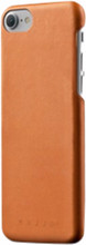 Mujjo Leather iPhone 7/8 Back Cover Bruin