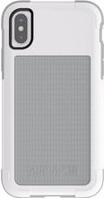 Griffin Survivor Fit iPhone X Back Cover Wit/Grijs