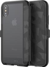 Tech21 Evo Wallet iPhone X Book Case Zwart