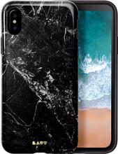 Laut Huex Marble iPhone X Back Cover Zwart