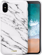 Laut Huex Marble iPhone X Back Cover Wit