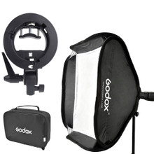 Godox S-type Bracket Bowens incl. Softbox 40x40cm