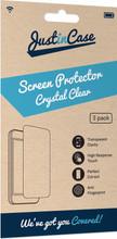 Just in Case Moto G5s Screenprotector Plastic Triple Pack