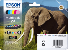 Epson 24 Inktcartridge 6 Colour Multipack