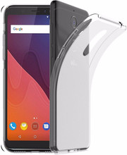 Just in Case Soft TPU Wiko View Back Cover Transparant