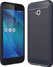 Just in Case Rugged TPU Zenfone 4 Selfie Pro Back Cover Blau