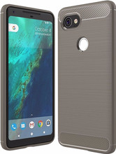 Just in Case Rugged TPU Google Pixel 2 XL Back Cover Grijs