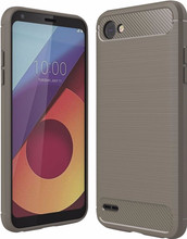Just in Case Rugged TPU LG Q6 Back Cover Grijs