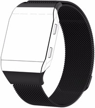 Just in Case Fitbit Ionic Milanees Horlogeband Zwart L