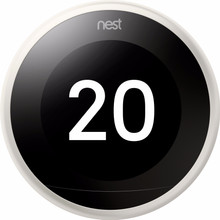 Nest Learning Thermostat V3 Premium Wit met installatie