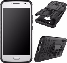 Just in Case Rugged Hybrid Moto G5S Back Cover Zwart
