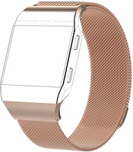 Just in Case Fitbit Ionic Milanees Horlogeband Rose Goud L