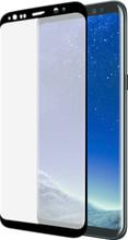 Azuri Galaxy S8 Screenprotector Curved Gehard Glas Duo Pack