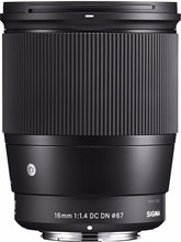 Sigma 16mm f/1.4 DC DN Contemporary E Mount