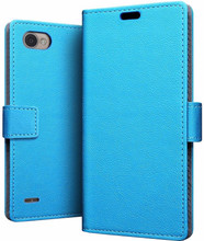 Just in Case Wallet LG Q6 Book Case Blauw