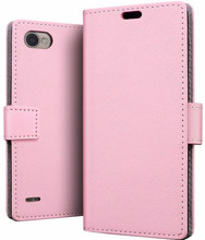 Just in Case Wallet LG Q6 Book Case Roze