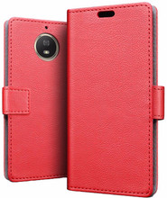 Just in Case Wallet Moto G5S Plus Book Case Rood