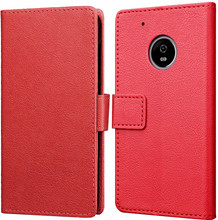 Just in Case Wallet Moto G5S Book Case Rood