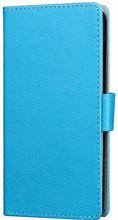 Just in Case Wallet Wiko Wim Lite Book Case Blauw