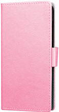 Just in Case Wallet Wiko Wim Lite Book Case Roze