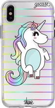 GoCase TPU Apple iPhone X Back Cover Fabulous Unicorn