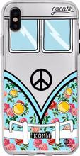 GoCase TPU Apple iPhone X Back Cover Blue Kombi