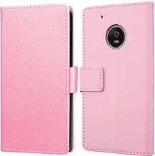 Just in Case Wallet Moto G5S Book Case Roze