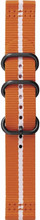 Samsung Gear Sport Premium Nylon Horlogeband Oranje