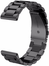 Just in Case Samsung Gear Sport RVS Horlogeband Zwart