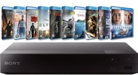 Sony BDPS1700 + 10 films