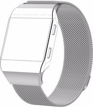 Just in Case Fitbit Ionic Milanees Horlogeband Zilver L