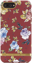 Richmond & Finch iPhone 6+/6S+/7+/8+ Back Cover Red Floral