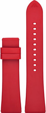 Emporio Armani 22mm Kunststof Horlogeband Rood