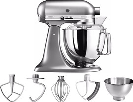 KitchenAid Artisan Mixer 5KSM175PS Geborsteld Nikkel