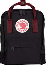 Fjällräven Kånken Mini Black-Ox Red
