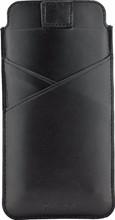 Valenta Pocket Premium iPhone 6+/6S+/7+/8+ Pouch Zwart