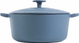 BK Bourgogne Braadpan 24 cm Denim Blue