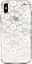 GoCase TPU iPhone X Back Cover Daisies