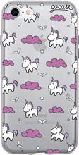 GoCase TPU iPhone 7/8 Back Cover Pink Unicorns