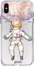 GoCase TPU iPhone X Back Cover Astronaut
