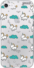 GoCase TPU iPhone 7/8 Back Cover Unicorns