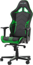 DX Racer RACING PRO Gaming Chair Zwart/Groen
