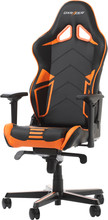 DX Racer RACING PRO Gaming Chair Zwart/Oranje